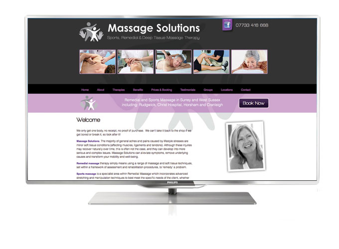 Massage Solutions sports and remedial massage in Surrey