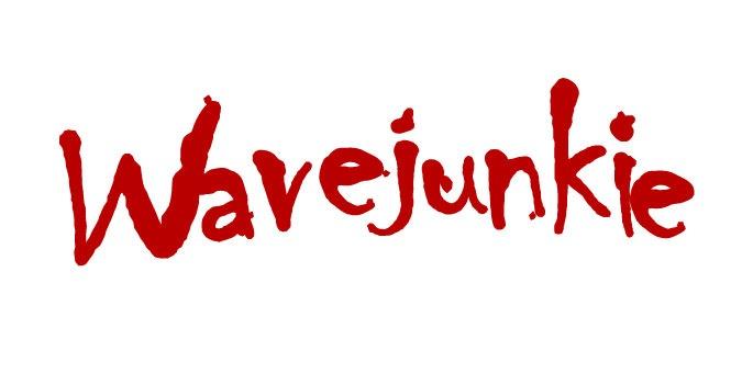 Wavejunkie surf photography logo