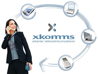 XKomms identity and marketing