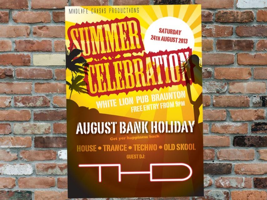 Summer Celebration Poster