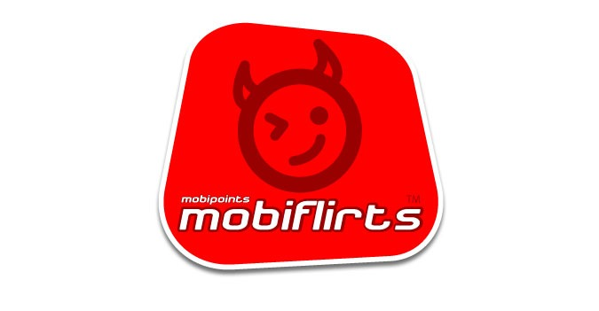 Mobiflirts logo - Mobile phone dating company