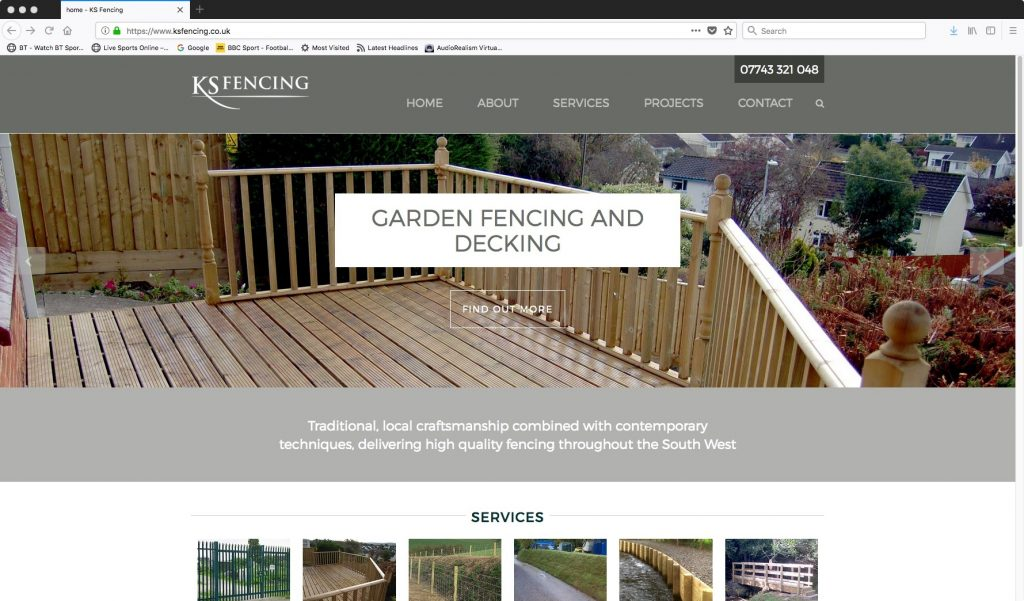 KS Fencing Devon