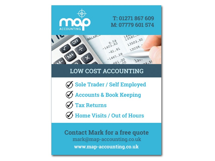 Map Accounting advert