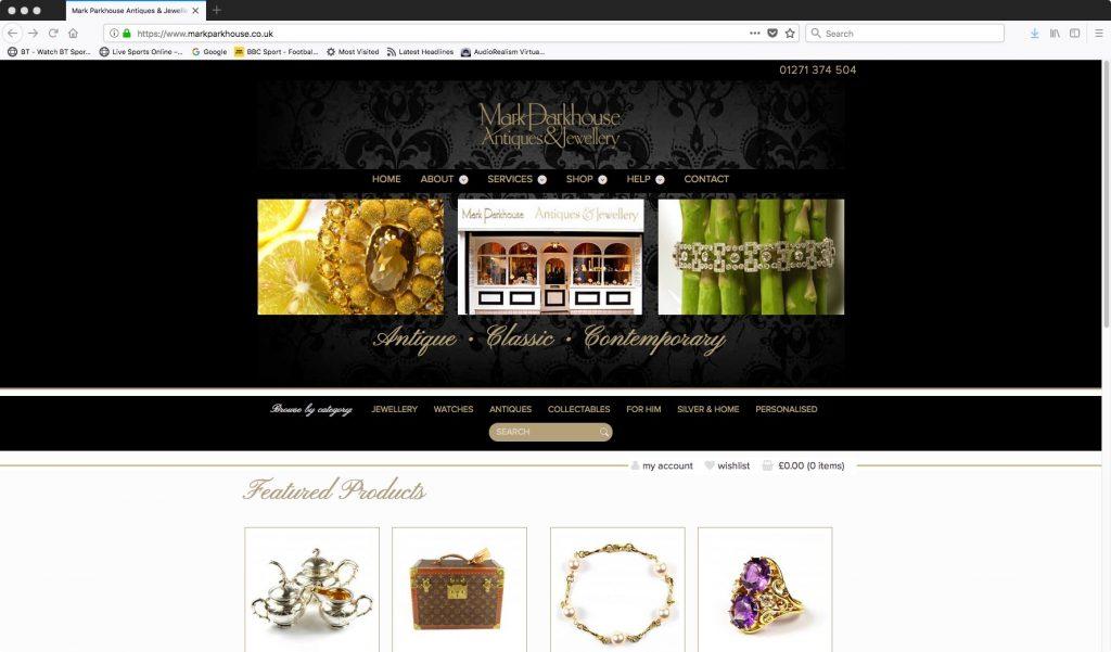 Mark Parkhouse Jewellers Barnstaple