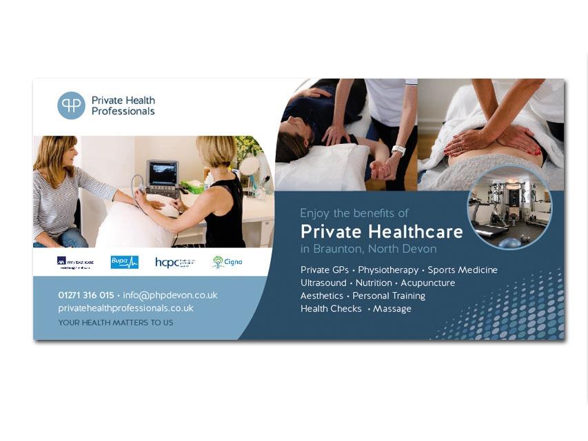Private Health Professionals advert