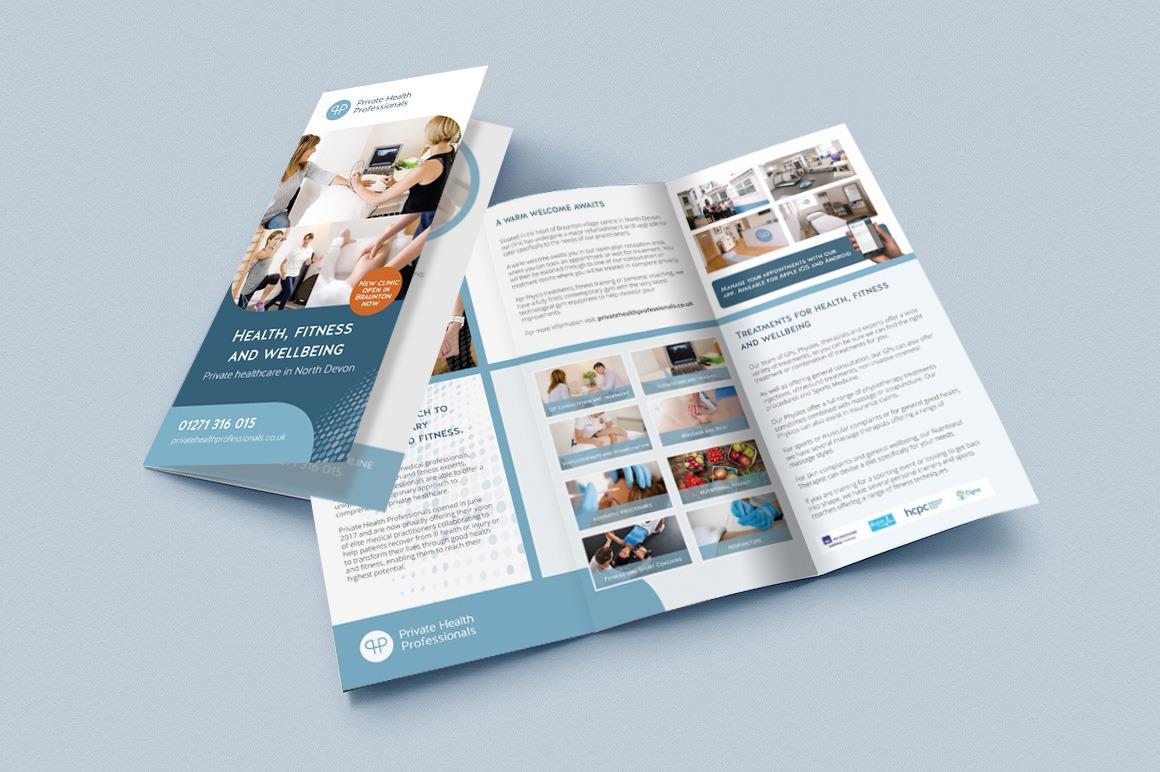 PHP 3 fold leaflet