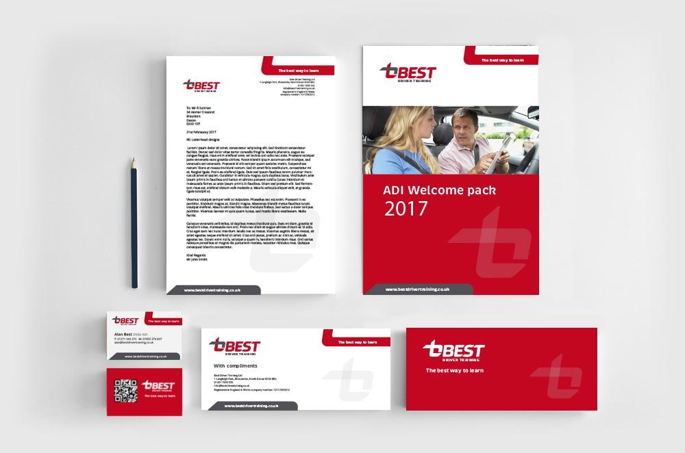 Best Driver Trainign business stationary