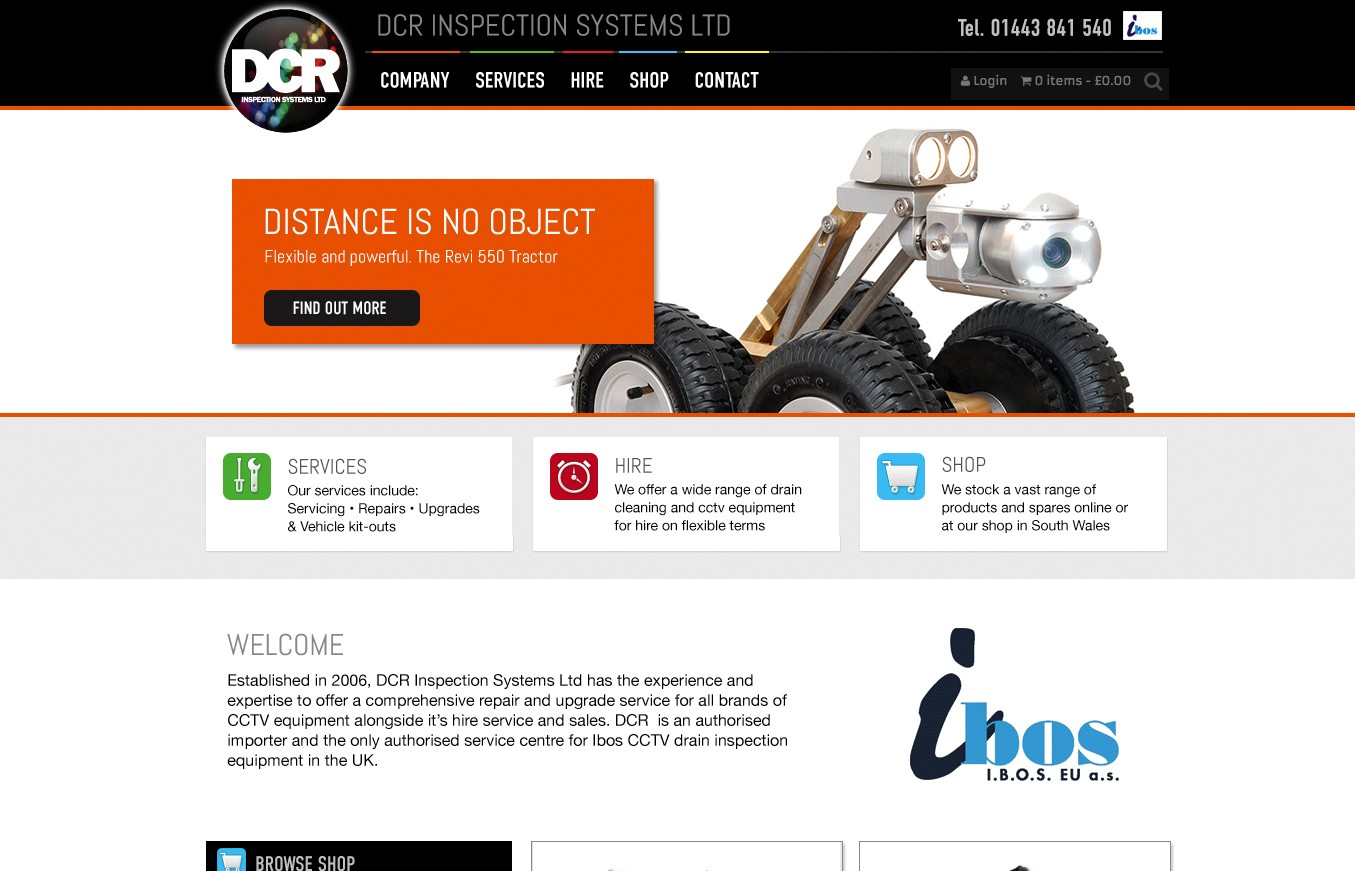 DCR Inspection systems online shop