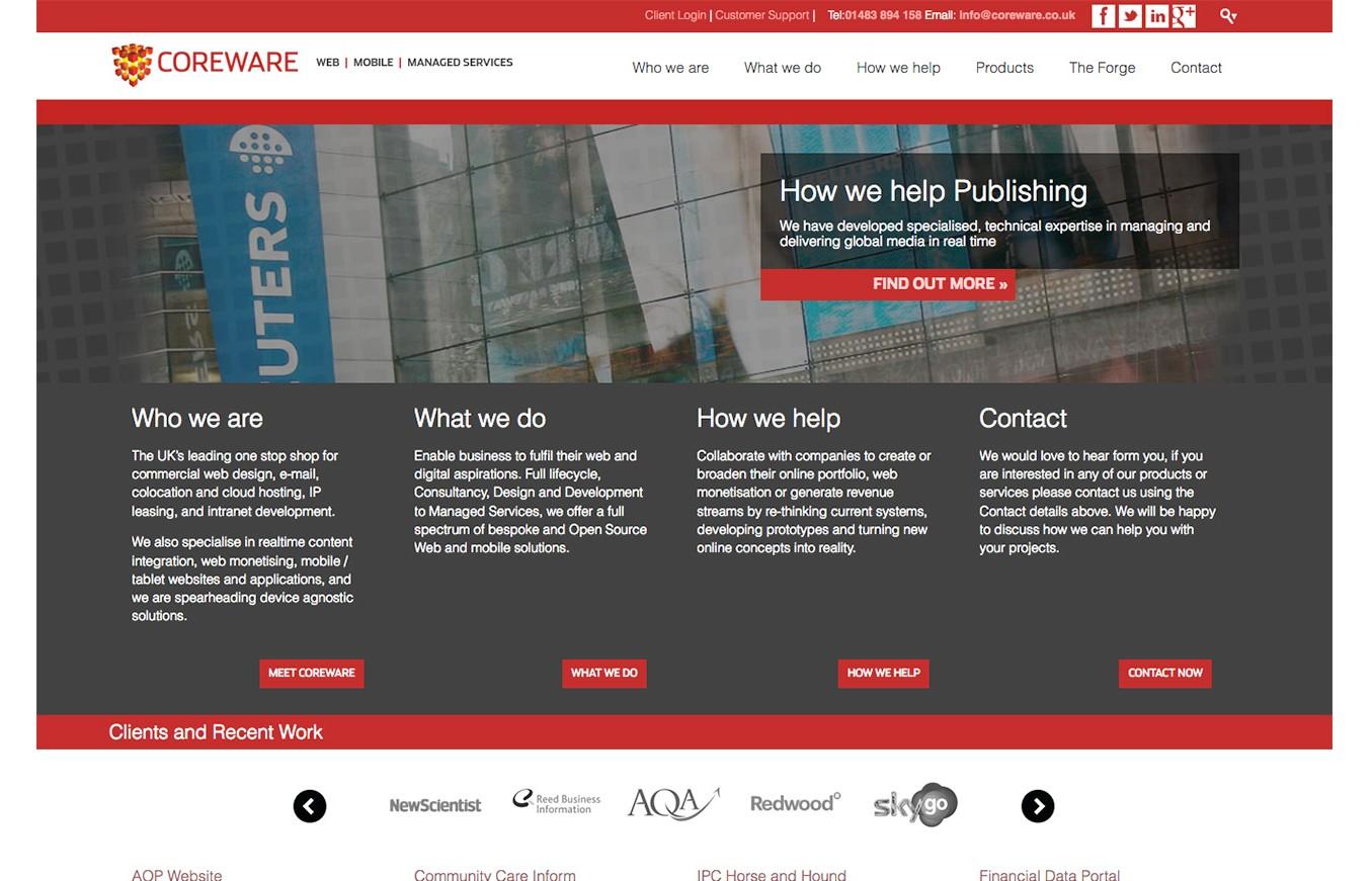 Coreware Website